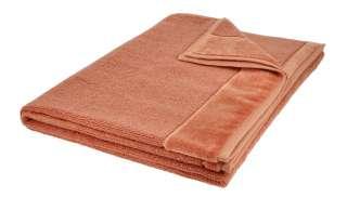 VOSSEN Badetuch  Pure ¦ orange ¦ 100% Bio-Baumwolle ¦ Maße (cm): B: 100 Badtextilien und Zubehör > Handtücher & Badetücher > Badetücher & Saunatücher - Höffner