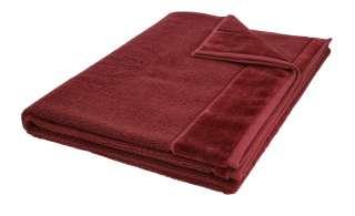 VOSSEN Badetuch  Pure ¦ rot ¦ 100% Bio-Baumwolle ¦ Maße (cm): B: 100 Badtextilien und Zubehör > Handtücher & Badetücher > Badetücher & Saunatücher - Höffner