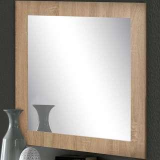 Garderoben Spiegel in Eichefarben 70 cm breit