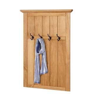 Garderobe aus Kiefer Massivholz 75 cm breit