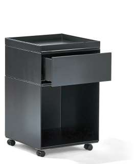 Richard Lampert - Stak Container - schwarz - Container 2 - mit Schublade und Stifteschale - indoor