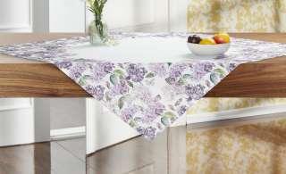 Mitteldecke  Lavendel ¦ lila/violett ¦ 100% Polyester ¦ Maße (cm): B: 85 Heimtextilien > Tischwäsche > Tischdecken - Höffner