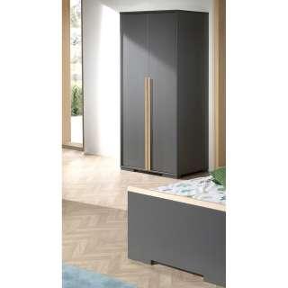 DELIFE Sideboard Live-Edge 172 cm Akazie Platin 4 Türen 4 Schübe Glasbeine, Sideboards, Baumkantenmöbel, Massivholzmöbel, Massivholz, Baumkante, Wolf Live Edge