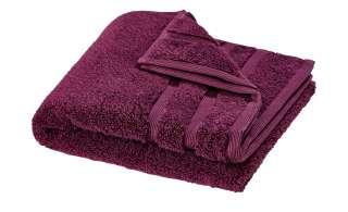 HOME STORY Handtuch  Das neue Kuschel Wuschel ¦ lila/violett ¦ 100% reine Baumwolle ¦ Maße (cm): B: 50 Badtextilien und Zubehör > Handtücher & Badetücher > Handtücher - Höffner