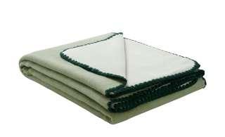 Wohndecke  Semper ¦ grün ¦ 50% Baumwolle, 43% Polyacryl, 7% Polyester  ¦ Maße (cm): B: 150 Heimtextilien > Kuscheldecken - Höffner