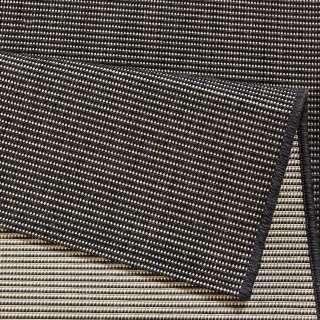 Retro Sofa Grau gemustert 230 cm