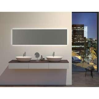 Standregal in Beton Grau und Schwarz 100 cm hoch