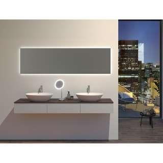 Standregal in Beton Grau und Schwarz 140 cm hoch