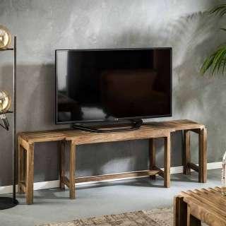 Fernsehboard aus Mangobaum Massivholz Landhaus Design
