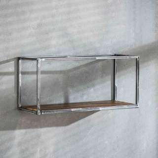 Sitzbank Saigon aus Mangoholz und Metall 160 x 40 cm