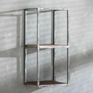 Bücherregal Saigon aus Mangoholz und Metall 80 x 190 cm