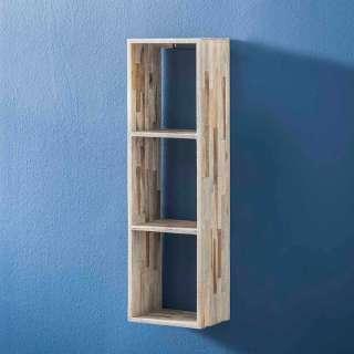 TV Lowboard aus Massivholz in Antik Braun 175 x 70 cm