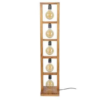 Stehlampe aus Akazie Massivholz 135 cm hoch