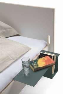 Moormann - Seitenablage Siebenschläfer + Tagedieb - anthrazit - indoor