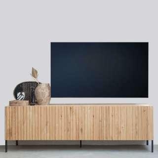 Design Lowboard aus Eiche Massivholz 180 cm breit