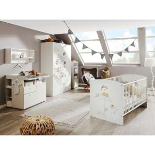 Rauch rauch PACK`S Schlafzimmer (4-tlg.), lila, mit 5-trg. Schrank