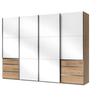 Wimex Schlafzimmer-Spar-Set (4-tlg.), grau, mit Aufbauservice, WIMEX