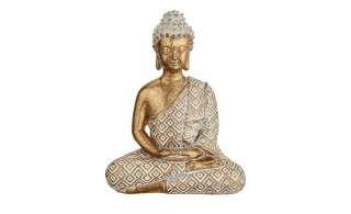 Buddha ¦ gold ¦ Polyresin (Kunstharz) ¦ Maße (cm): H: 12,5 Dekoration > Dekoartikel - Höffner