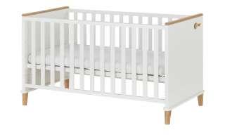 PAIDI Babybett  Lotte & Fynn ¦ weiß ¦ Maße (cm): B: 80,4 H: 84,3 Baby > Babymöbel > Babybetten - Höffner