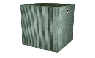 Aufbewahrungsbox ¦ grün ¦ Karton ¦ Maße (cm): B: 30 H: 30 T: 30 Regale > Regal-Aufbewahrungsboxen - Höffner
