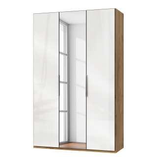 Wohnzimmer Sideboard in Weiß Landhaus 145 cm