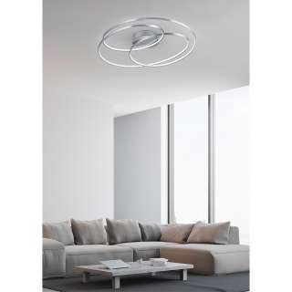 home24 LED-Deckenleuchte Gale II