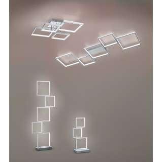 home24 LED-Deckenleuchte Sorrento II