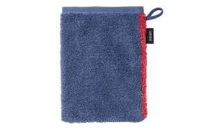 JOOP! Waschhandschuh  JOOP 1676 Frame Contour ¦ blau ¦ 100% Baumwolle ¦ Maße (cm): B: 16 Badtextilien und Zubehör > Handtücher & Badetücher > Waschhandschuhe & Seiftücher - Höffner