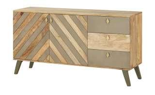 Sideboard  Rho ¦ holzfarben ¦ Maße (cm): B: 145 H: 75 T: 42 Kommoden & Sideboards > Sideboards - Höffner
