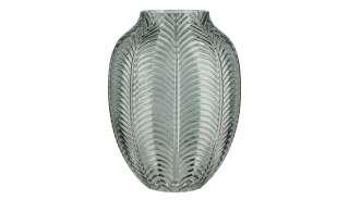 Vase ¦ grün ¦ Glas  ¦ Maße (cm): H: 20 Ø: 15 Dekoration > Vasen - Höffner