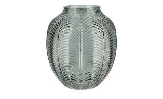 Vase ¦ grün ¦ Glas  ¦ Maße (cm): H: 15,5 Ø: 12 Dekoration > Vasen - Höffner