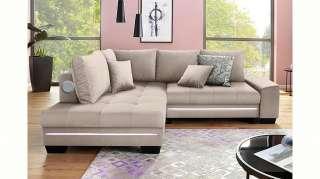set one by Musterring Schwebetürenschrank mit Glasfront und Spiegel, grau, Höhe 216cm, Breite 250cm »dayton«, FSC®-zertifiziert