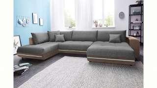 set one by Musterring Schwebetürenschrank mit Dekorfront und Spiegel »dayton«, weiß, Höhe 216cm, Breite 200cm, FSC®-zertifiziert
