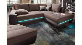 set one by Musterring Schwebetürenschrank mit Glasfront und Spiegel, grau, Höhe 236cm, Breite 300cm »dayton«, FSC®-zertifiziert