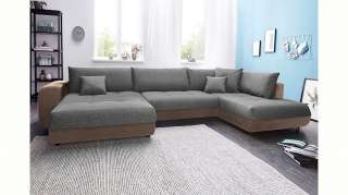 Sofa Beistelltisch aus Mangobaum Massivholz Rund