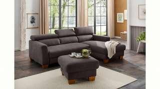 Home affaire Ecksofa »Steve Luxus«, mit besonders hochwertiger Polsterung für bis zu 140 kg pro Sitzfläche