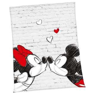 home24 Plaid Mickey & Minnie