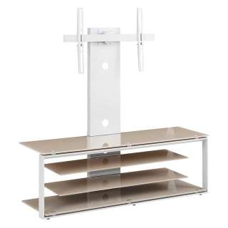 Küchenhocker Set in Braun Kunstleder Stahl Anthrazit (2er Set)