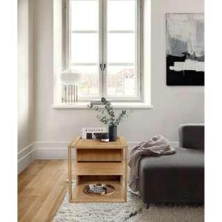 Landhaus Konsolentisch in Weiß Grau 140 cm