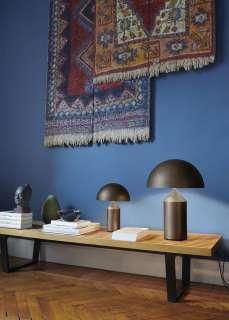Oluce - Atollo 238 Tischleuchte - bronzo satinato - indoor