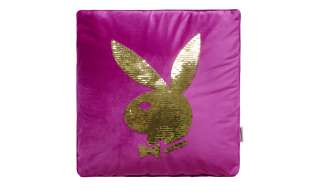 Playboy Dekokissen  Ellen ¦ lila/violett ¦ Maße (cm): B: 40 T: 40 Heimtextilien > Kissen > Dekokissen - Höffner
