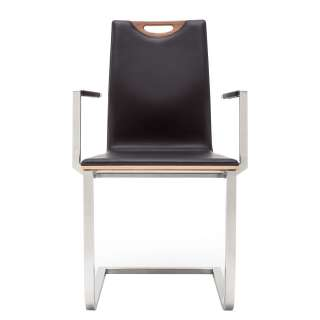 Runder Sofa Beistelltisch aus Akazie Massivholz Stahl (2-teilig)
