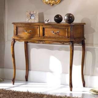Konsolen Tisch in Nussbaumfarben italienischen Design