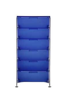 Kartell - Mobil 6 - mit Fuß - kobaltblau - indoor