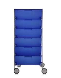 Kartell - Mobil 6 - mit Rollen - kobaltblau - indoor