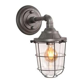 Deko Wandlampe aus Metall Industriedesign