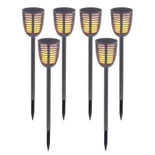 home24 LED-Wegeleuchte Fackel I