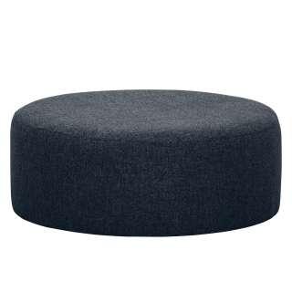 Sofa Beistelltisch aus Kernbuche Massivholz Metall Schwarz