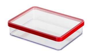 Rotho Dose breit 1,0 l  Loft ¦ transparent/klar ¦ Kunststoff ¦ Maße (cm): B: 15 H: 4,8 Küchenzubehör & Helfer > Vorratsbehälter - Höffner