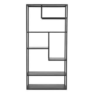 Wohnzimmerregal in Schwarz 35 cm tief